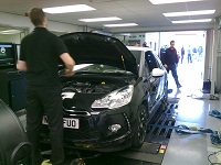 Citroen DS3 Remapping on dyno