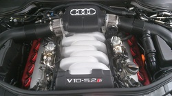 Audi S8 5.2 V10 ECU Remapping