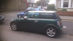 Mini Cooper r50 Remap