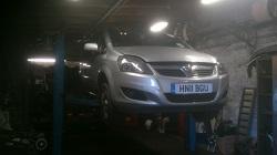 Vauxhall Zafira 1.7 CDTi Remap