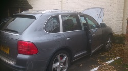 Porsche Cayenne Turbo 4.5 Remap