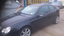 Mercedes c200cdi Coupe Remap
