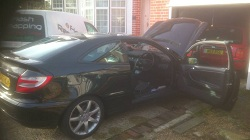Mercedes c200 Kompressor Remap