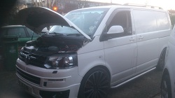 VW Transporter T5 2.5TDi 130Remap