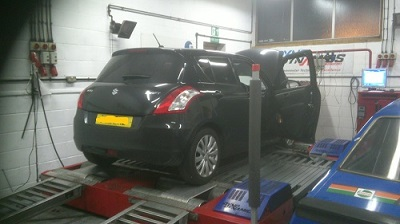 Suzuki Swift 1.3DDiS Remapping