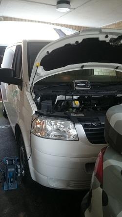 VW Transporter T5 1.9 84 Remap