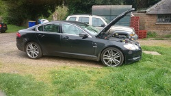Jaguar XF 3.0D Remap