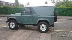 Land Rover Defender 2.4 Remap