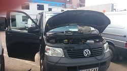 VW Transporter T5 2.5 TDi Remap