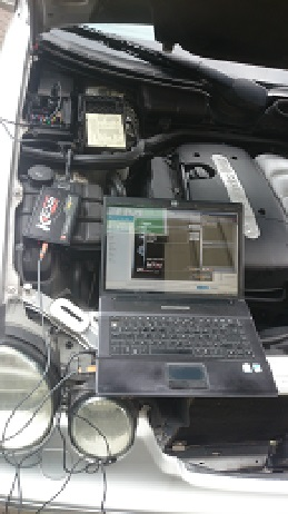Mercedes w210 E220 CDi Remap