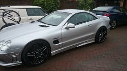Mercedes SL500 w230 Remap
