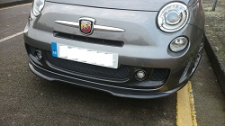 Fiat 500 Abarth Carbon Fibre Splitter
