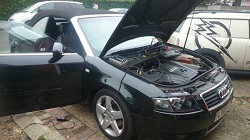 Audi A4 1.8T Convertible 163 Remap