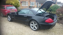 Mercedes W230 SL350 Remap flashremapping.co.uk