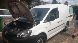 VW Caddy 1.6 tdi Remap