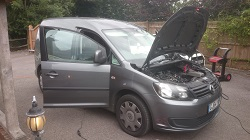 VW Caddy 2.0 TDI Remap
