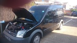 FordTransit Connect Tdci 110 remap