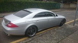 Mercedes 320cdi cls remap