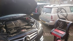 MERCEDES W212 E220 CDi Remap