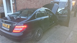Mercedes c200 Cdi w204 Remap