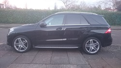 Mercedes ml 350CDi Bluetec Remap