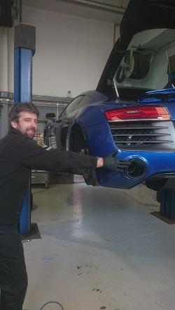 Audi R8 V10 Remap2