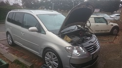 VW Touran 2.0 Tdi Remap