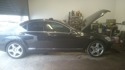 Mercedes S320CDi Remap