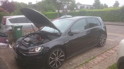 VW Golf GTD Remap