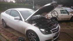 Mercedes E220 CDi Coupe Remap