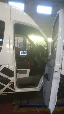 Mercedes Sprinter 311 Remap
