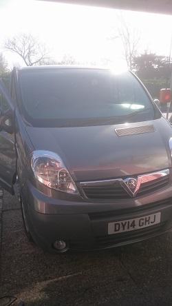Vauxhall Vivaro 2.0 CDTi Remapping