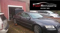 Audi A8 D3 4.2 TDi Remap