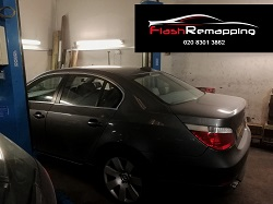 BMW E60 530D Remap