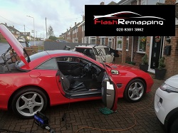 Mercedes SL500 Remap