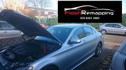 Mercedses w205 220cdi Remap