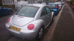 VW Beetle 1.8T Remap