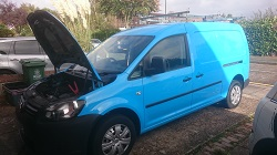 VW Caddy - ex British Gas Remap and speed limiter removal