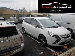 Vauxhall Zafira Tourer 1.4T Remap